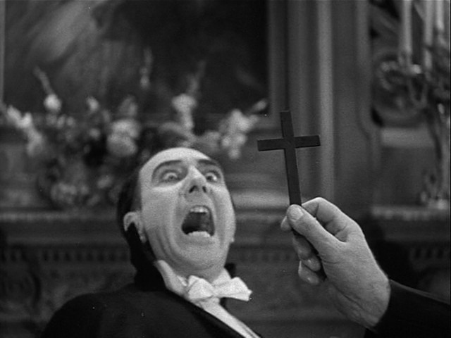 Spanish Dracula Repelled by Crucifix[5]