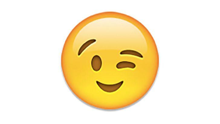 Wink-emoji