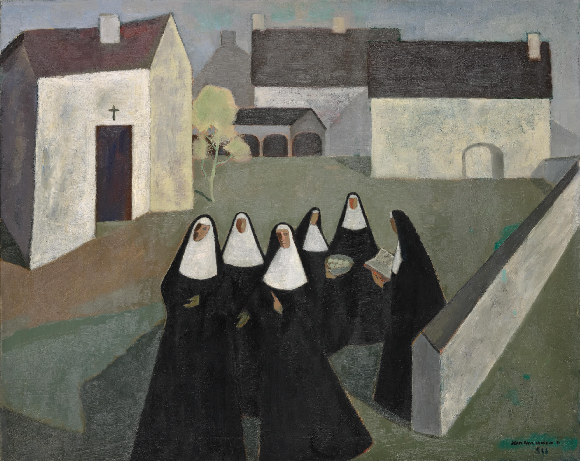 jean-paul-lemieux-the-ursuline-nuns-kw